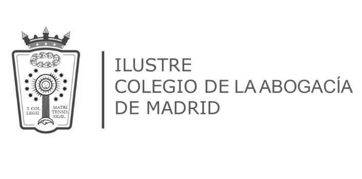 ilustre colegio de la abogacia de madrid logo